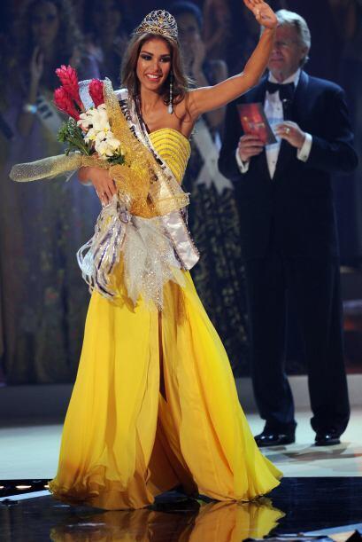 El 14 de julio de 2008, Dayana obtuvo el título Miss Universo 200...