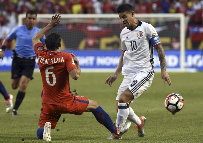 El ranking de los jugadores de Colombia vs Chile GettyImages-542235314.jpg