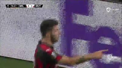 ¡GOOOL! Patrick Cutrone anota para Milan