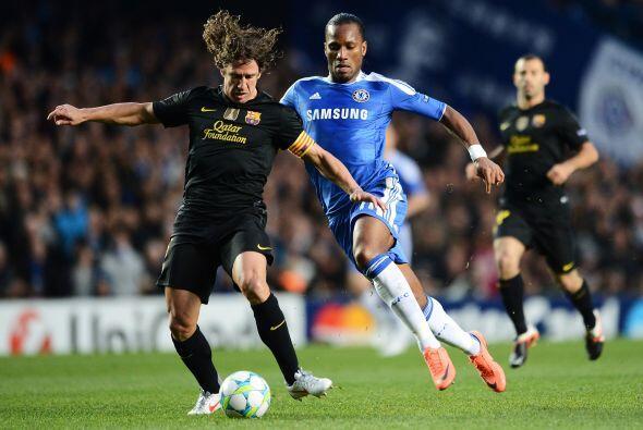 Stamford Bridge recibió a su Chelsea para enfrentar al Barcelona...