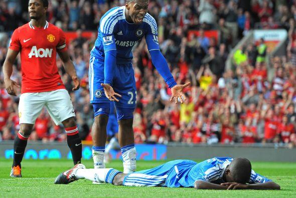 Pero los 'Blues' no fuero contundentes con algunas opciones de gol que s...