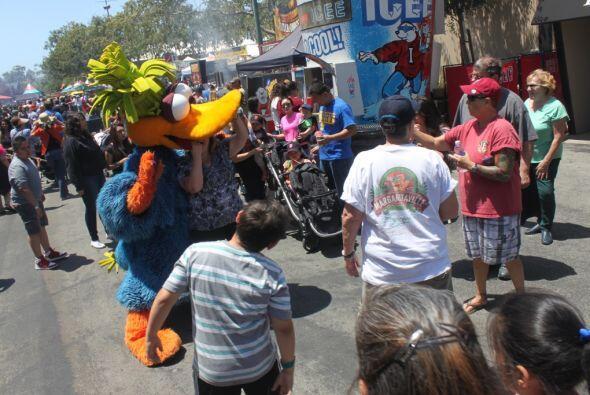 Este pasado domingo Estéreo Sol festejó la feria de San Mateo con K-Paz...
