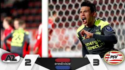'Chucky' heroico: el mexicano hizo gol y comandó la remontada del PSV ante el AZ