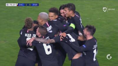 Maquinhos pone el 3-1 y el Paris respira