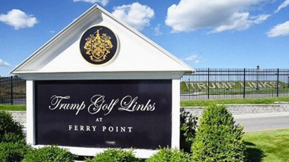 Trump ferry Point