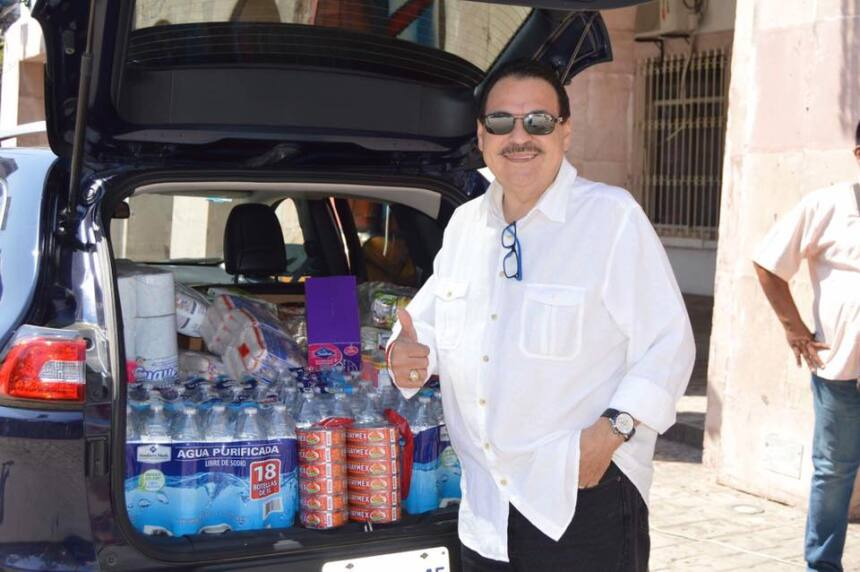 Grupos y cantantes de regional mexicano se unen para ayudar a México jul...