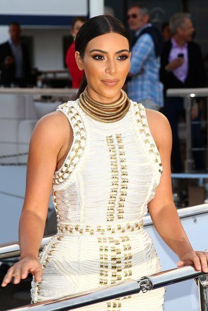 Kim dijo que es una mamá estricta y divertida a la vez.   Mira los chism...