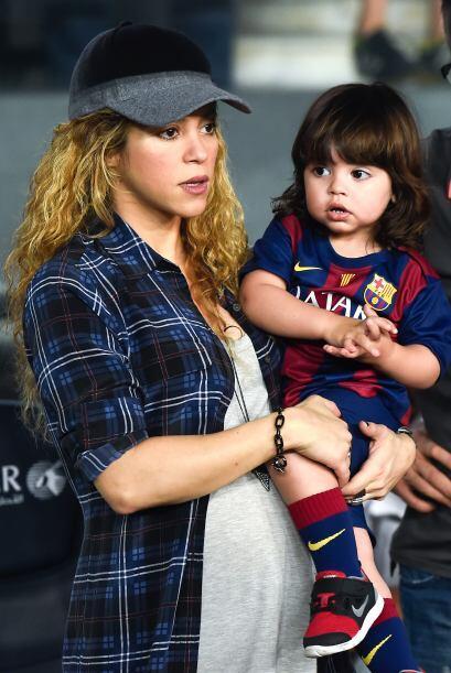 Milan Piqué está a pocas horas de convertirse en hermano mayor.