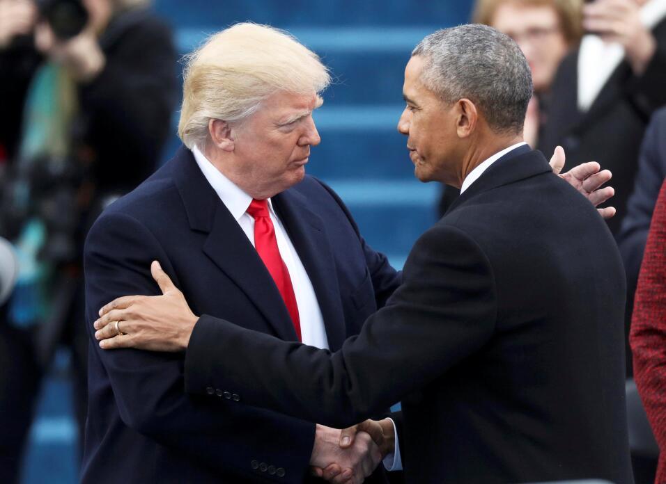 Los últimos momentos de Barack Obama como presidente