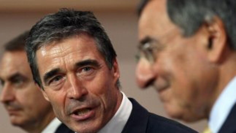 Anders Fogh Rasmussen, secretario general de la OTAN, negó que la alianz...