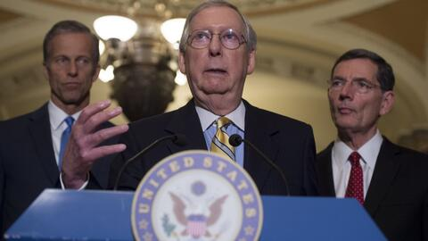 Por falta de acuerdo entre republicanos, se aplaza la votación en el Sen...