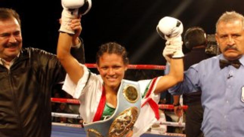 Katy Gutiérrez ez campeona mundial paja FIB (Foto: HG Boxing)