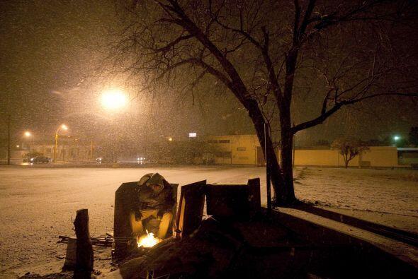 Los estados del centro del país también ha registrado bajas temperaturas...