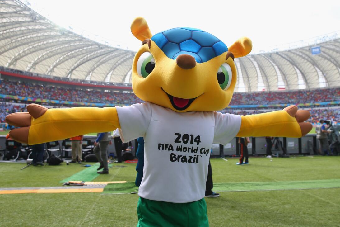 Mascotas de los Mundiales de fútbol en los últimos 30 años GettyImages-4...