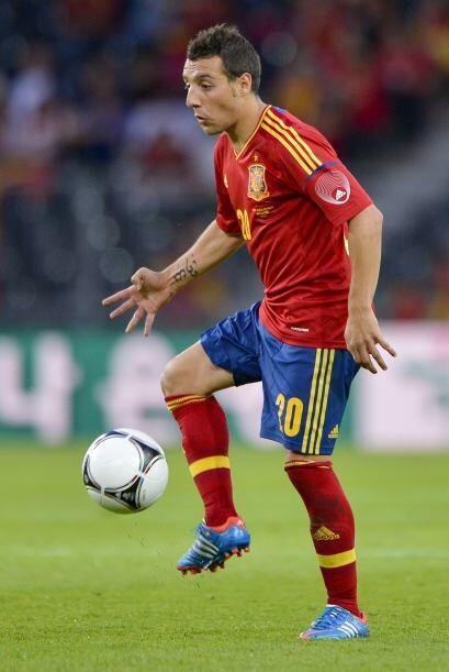 El español Santi Cazorla cambió de aires al cambiar la Liga ibérica por...