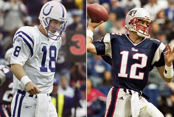 1.- 30 de septiembre del 2001.- Tom Brady tiene su primer partido como t...