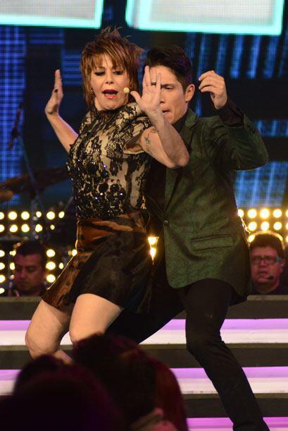 Y Alejandra Guzmán le pidió a Fernando Corona que otra vez bailaran juntos.
