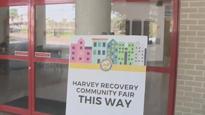 Inician en Houston las ferias de recuperación tras el paso del huracán Harvey