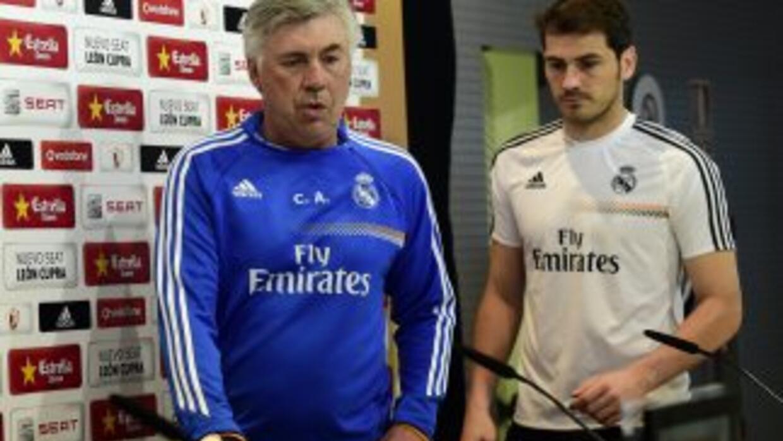 El técnico aseguró que confía en el portero del Real Madrid.