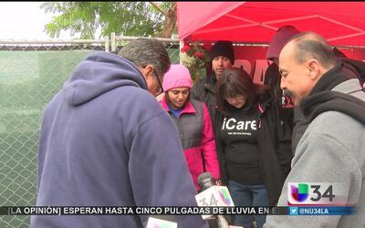 Regresan a trabajar víctimas de San Bernardino