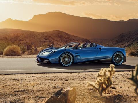 Aquí está el nuevo Huayra Roadster