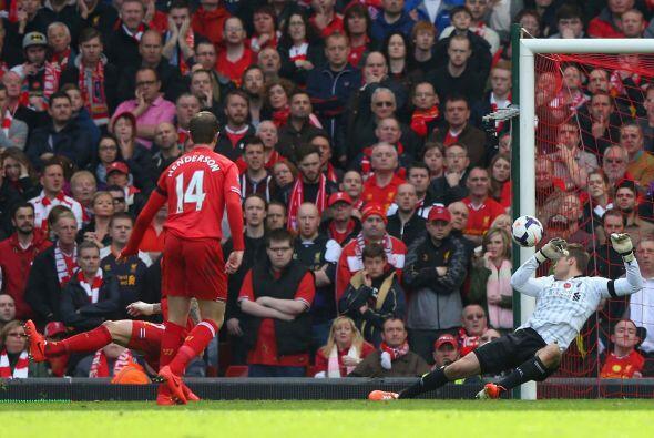 Al minuto 62 los 'Reds' no corrieron con fortuna o principalmente el ing...