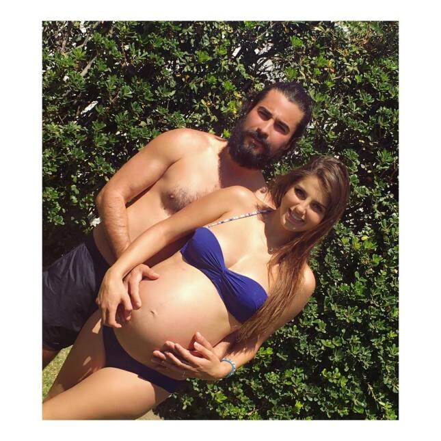 Michelle Renaud y Josué Alvarado se convirtieron en papás, recuerda su l...