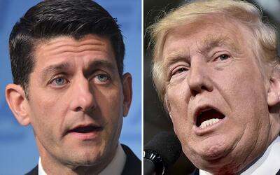 Tanto Ryan como Trump tuvieron resultados que sobrepasaron sus expectati...