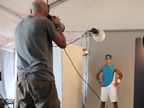 Las obligaciones de los tenistas profesionales llegan más all&aac...