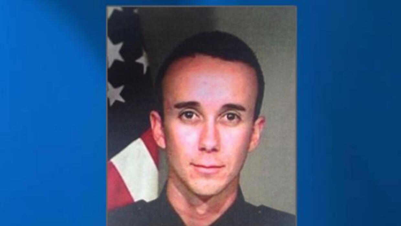 Oficial Gabriel García, 31 años Departamento de Policía San Bernardino