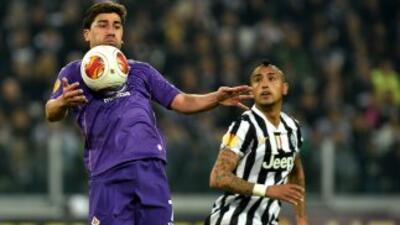 La Fiorentina alcanzó a sacar un empate de casa de Juventus y todo se de...