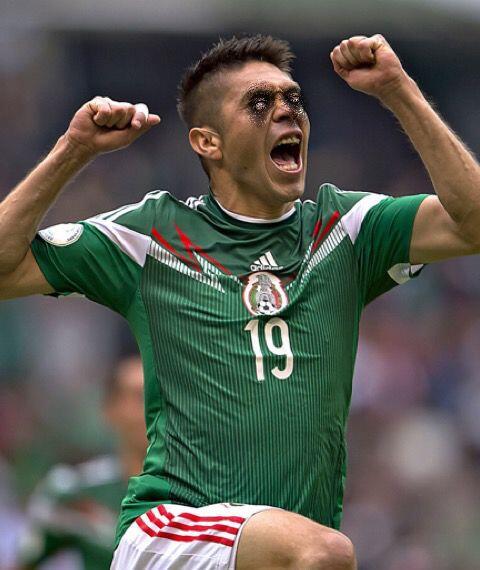 Oribe Peralta, delantero del América y la Selección Mexicana.