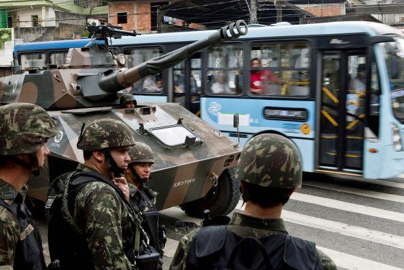 En Río Janeiro existen 750 favelas donde vive el 20% de la población.
