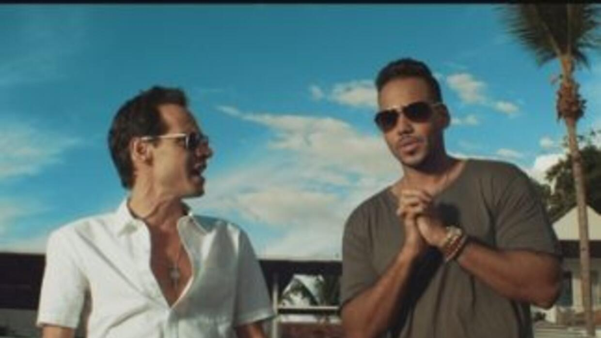 Marc Anthony y Romeo Santos estrenan su video 'Yo También'.