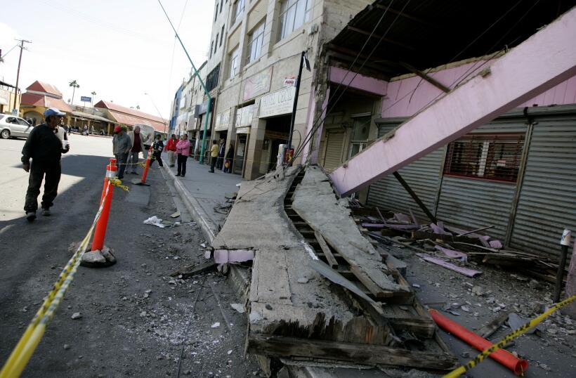 Imágenes de los daños que dejó el terremoto en Mexi...