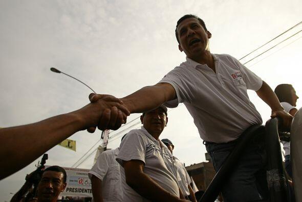Humala perdió en segunda vuelta las elecciones presidenciales de 2006 fr...