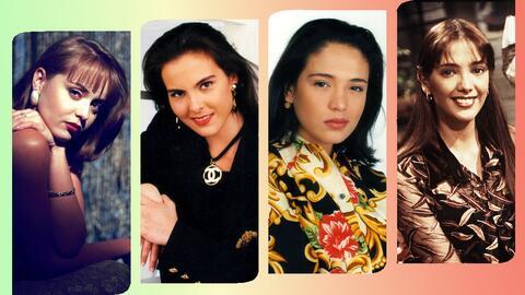 Actrices famosas de las telenovelas de los 90
