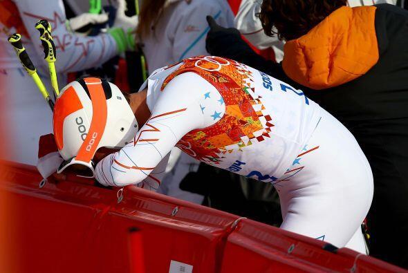 Dos acciones marcaron la jornada en Sochi 2014: Las lágrimas del...