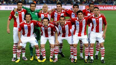 Los resultados y la alineación de la práctica Paraguay de Martino en el Mundial de Sudáfrica 2010