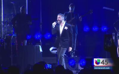 Alejandro Fernández en Houston