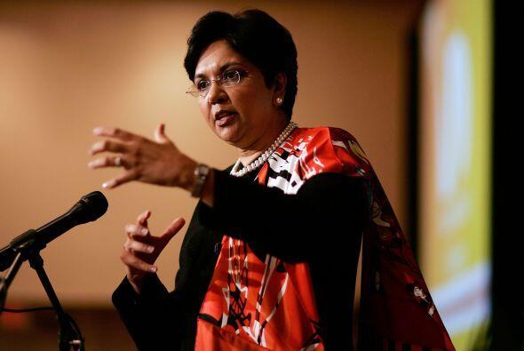 3. INDRA NOOYI. La La directora ejecutiva y presidenta de PepsiCo reveló...