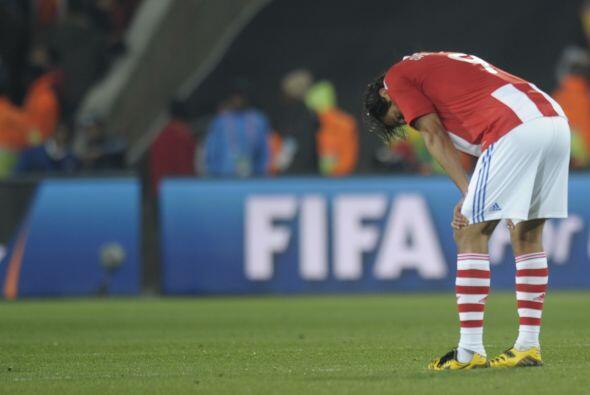La selección de Paraguay no se salvó de las afectaciones físicas del del...