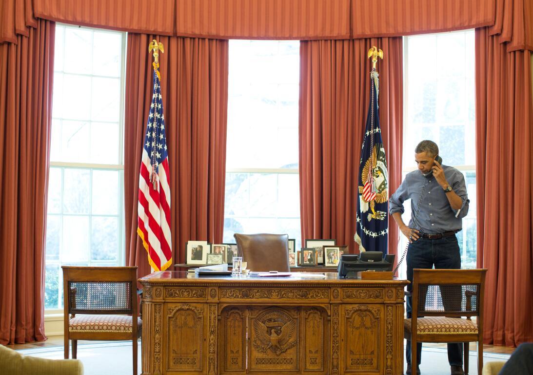 Oval Office Barack Obama