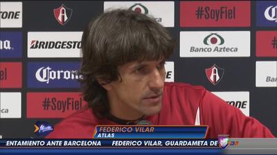 Federico Vilar: ''Una derrota no nos puede volver locos''