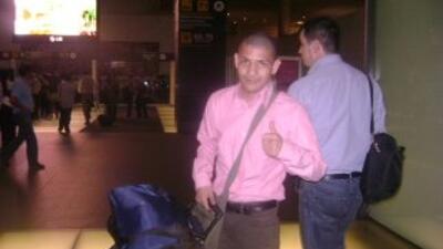Cabrear viajó a Argentina para enfrentar a Omar Narváez (Foto: HG Boxing)