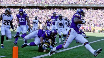 Vikings 21-18 Rams (TE): Bridgewater y Peterson dieron 6ta victoria a Mi...
