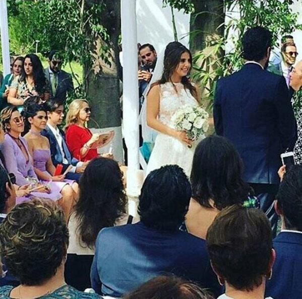 Michelle Renaud boda