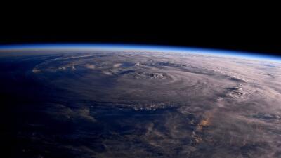 Así se ve el huracán Harvey desde el espacio (FOTOS)