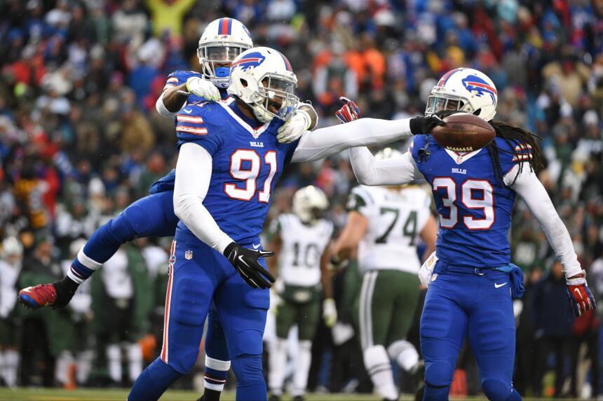 Los Bills le hicieron la maldad a los Jets y al ganarles 22-17, y al gan...