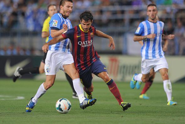 Cesc Fábregas fue el encargado de tomar el puesto de Messi, pero no se v...